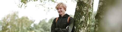 Student from Forest and Landscape College